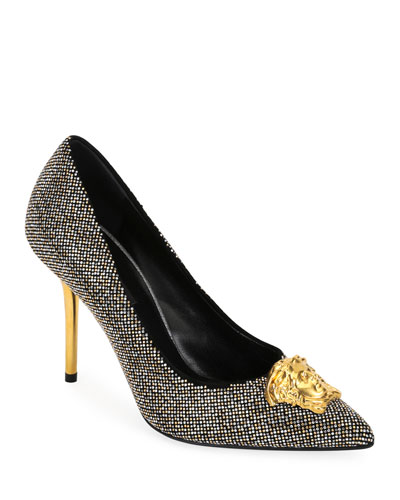 Medusa Pumps with Microstuds