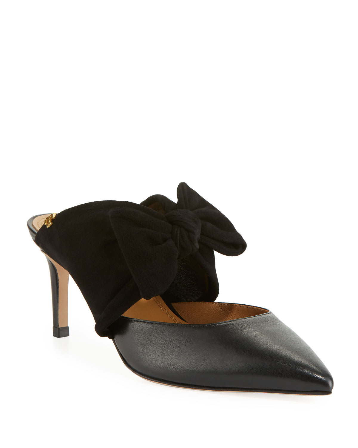 ab1026f60213 Tory Burch Eleanor 65mm Mules with Bow