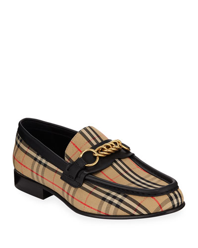 Moorley Check Loafers