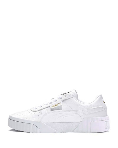 Cali Platform Leather Sneakers