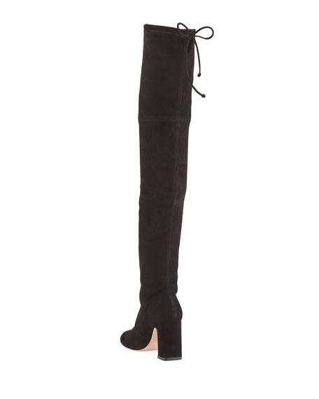 Kirstie Suede Over-The-Knee Boots