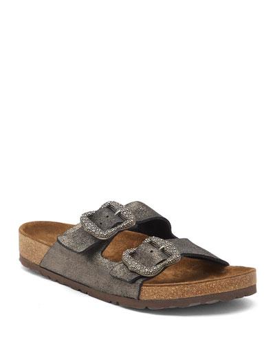Grunge Two-Strap Sandals