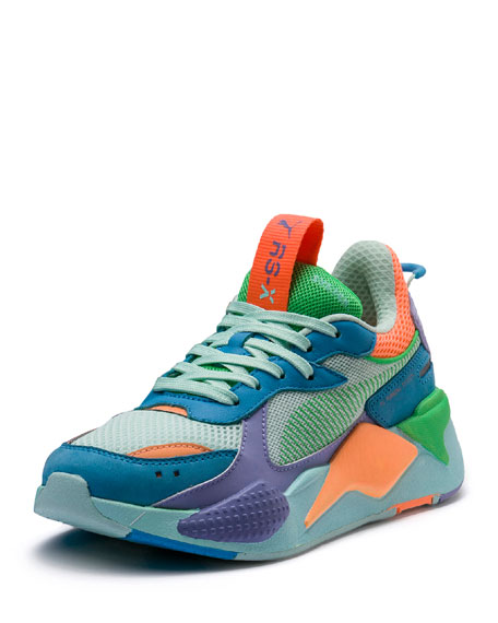 RS-X Colorblock Sneakers, Blue