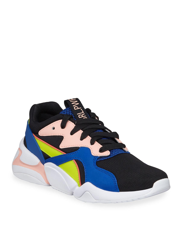dd551d8fc7885c Puma Nova Girl Pwr Knit Dad Sneakers