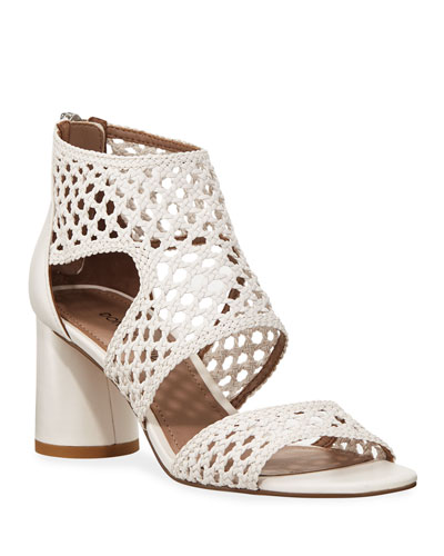 Herra Woven Leather Sandals