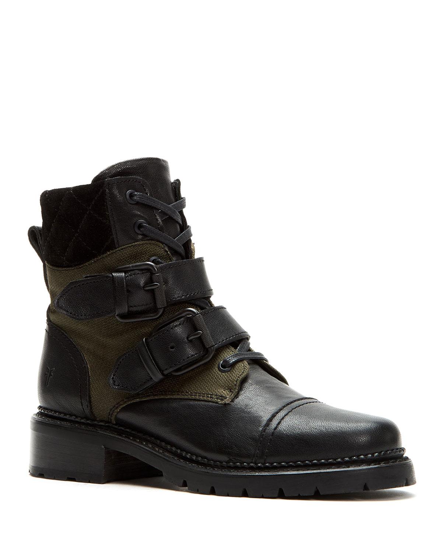 fce952acbf6 Samantha Belted Hiker Boots