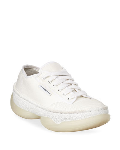A1 Low-Top Canvas Sneakers