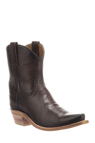 Lucchese Gaby Leather Western Boots