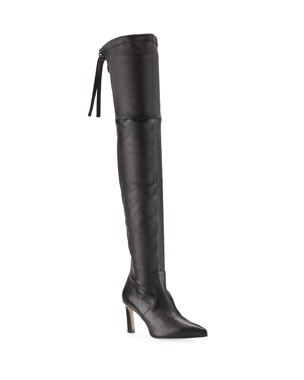 6cd350ec8bc Stuart Weitzman Natalia 75mm Leather Over-The-Knee Boots