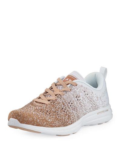 Techloom Pro Ombre Metallic Knit Sneakers