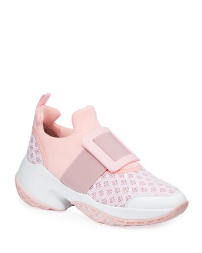 Viv Run Knit Platform Sneakers
