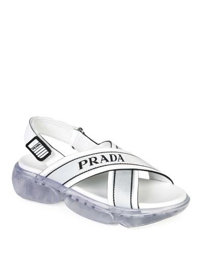 Logo Sport Chunky Sandals
