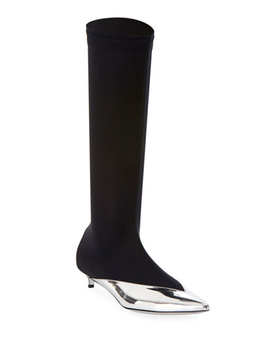 Show Stretch Knee Boots