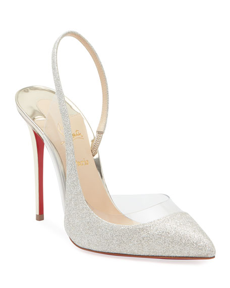 Christian Louboutin Optisexy Glitter Red Sole Pumps