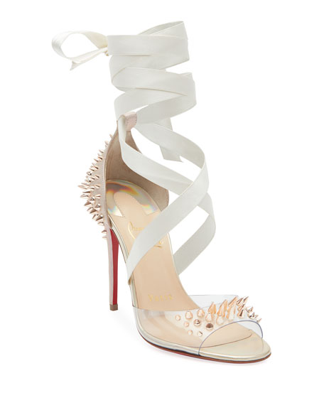 Christian Louboutin Barbarissima Red Sole Sandals