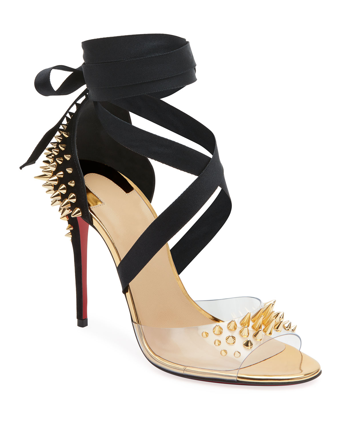 grossiste 056f7 9aa81 Barbarissima Red Sole Sandals