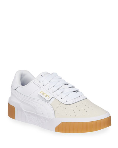 Cali Exotic Low-Top Leather Sneakers
