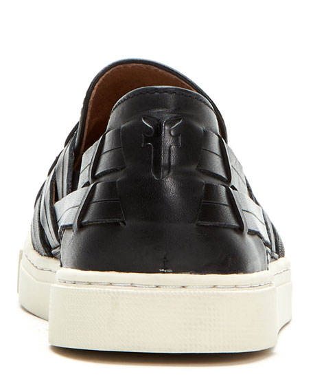 Frye Ivy Leather Chevron Sneakers