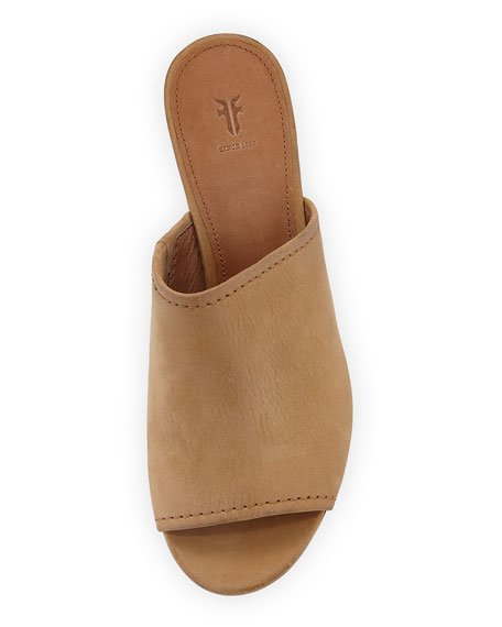 Frye Blake Leather Mule Sandals