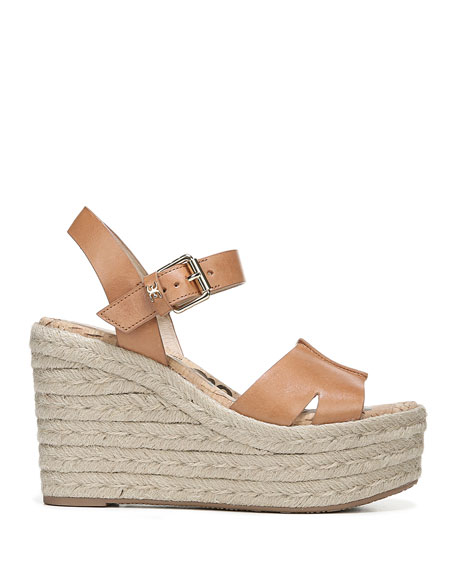 ced744b4cd1 Image 2 of 4  Maura Leather Platform Espadrille Sandals