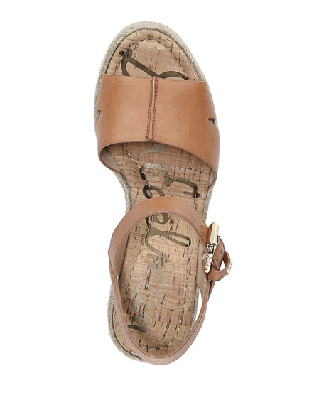 7570206c3f0 Image 4 of 4  Maura Leather Platform Espadrille Sandals