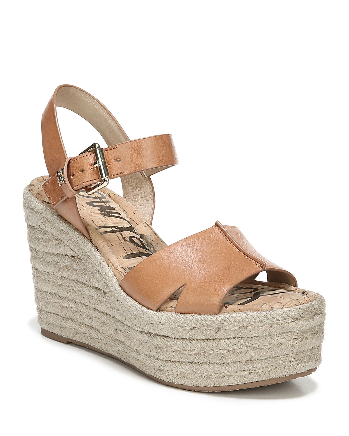 c7bcb58709b Sam Edelman Maura Leather Platform Espadrille Sandals
