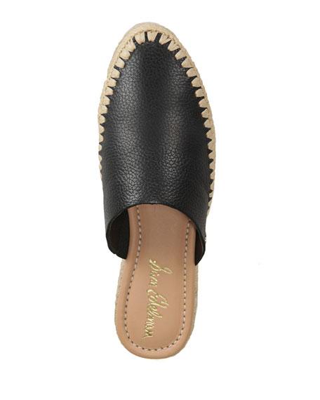 49dd5449e994 Image 4 of 4  Austin Tumbled Leather Espadrille Mules