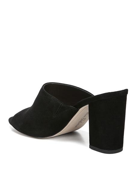 dbc60868c6c Sam Edelman Women s Orlie Open-Toe Block-Heel Mules In Black