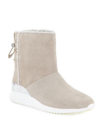 StudioGrand Waterproof Slip-On Boots  Dove