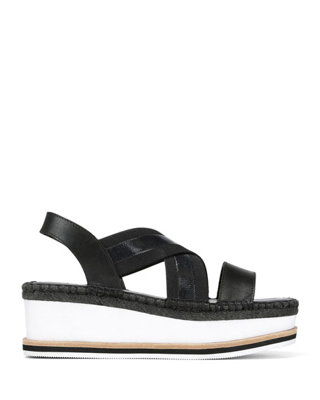 Donald J Pliner Audrey Comfort Wedge Sandals