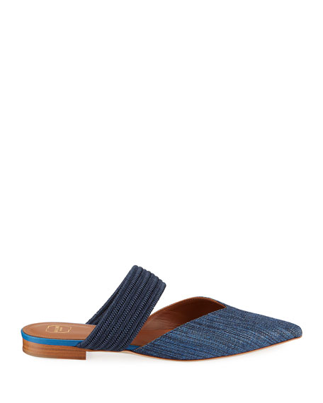 Malone Souliers Maisie Luwolt Pointed-Toe Flat Mules