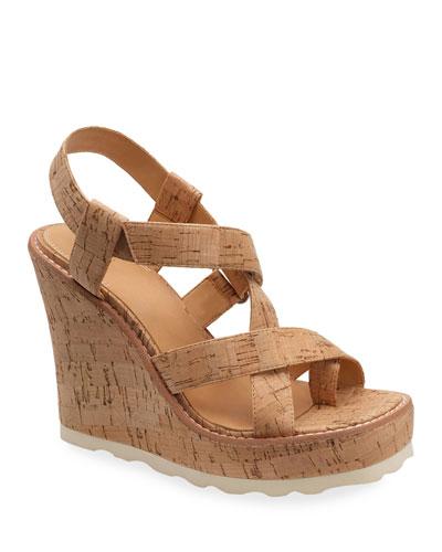 Rae Cork Wedge Sandals