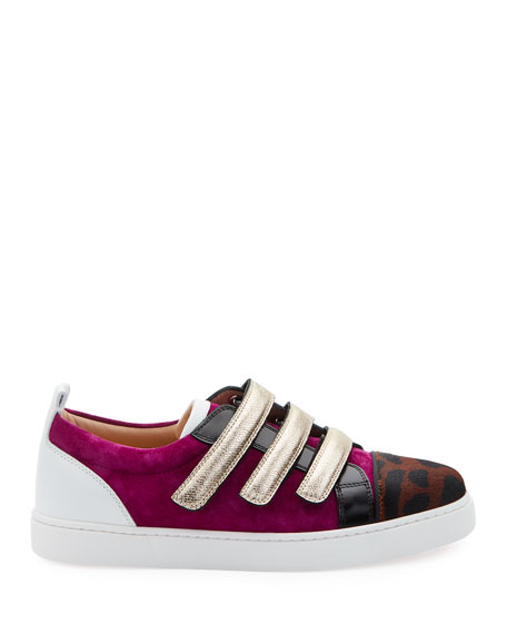 Christian Louboutin Kiddo Donna Red Sole Sneakers