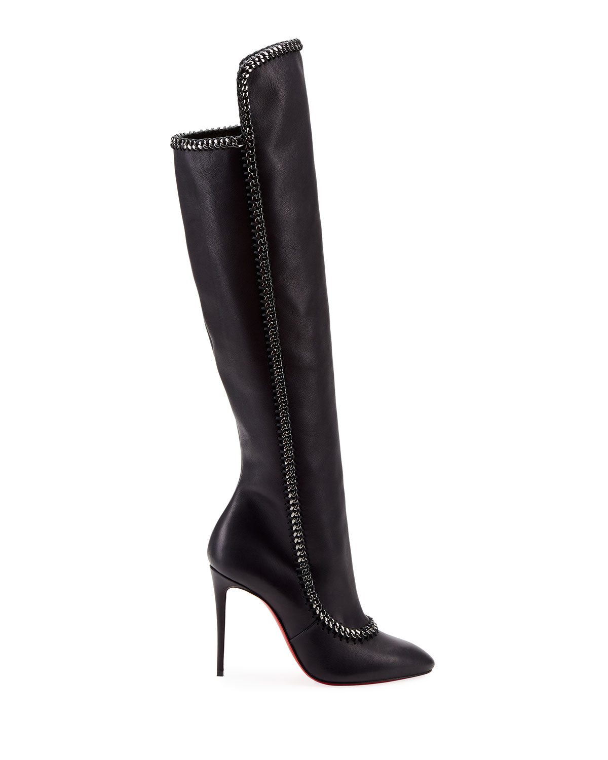 385a92e43e0 Clemence Botta Red Sole Boots