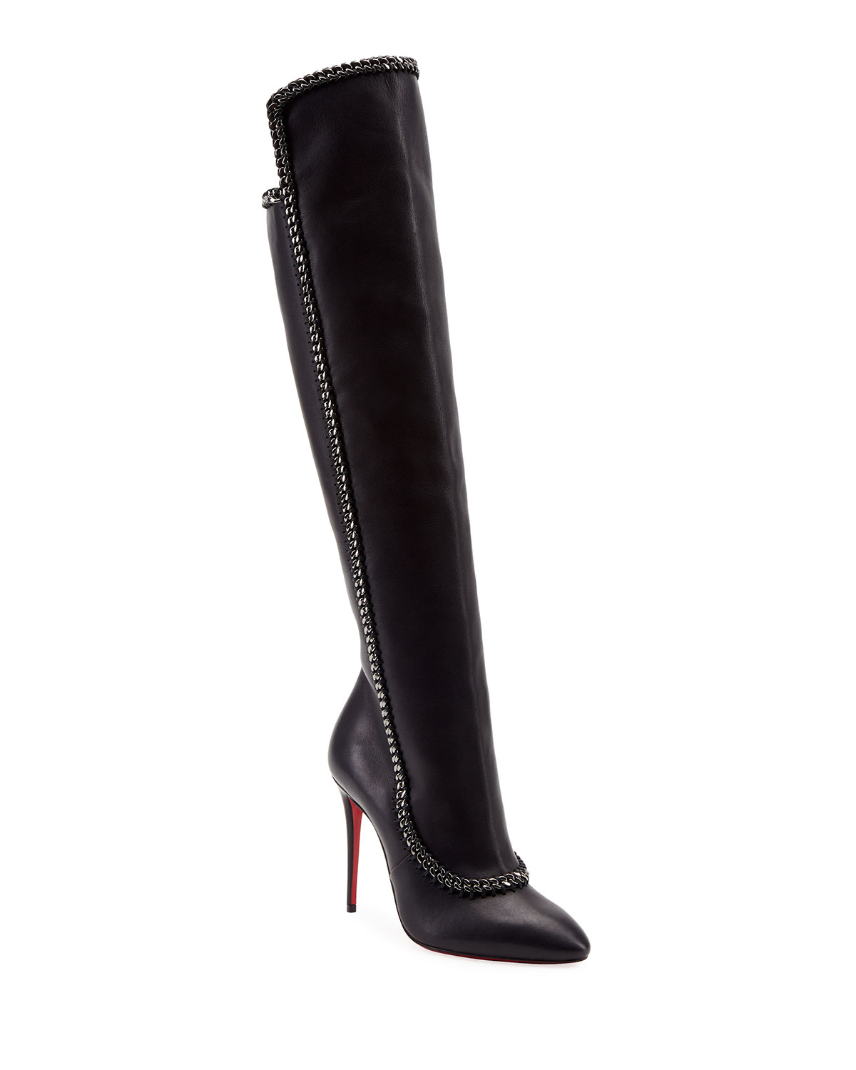 timeless design 2ab01 d9b27 Clemence Botta Red Sole Boots