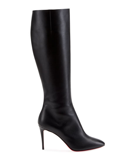 Christian Louboutin Eloise Botta Red Sole Boots