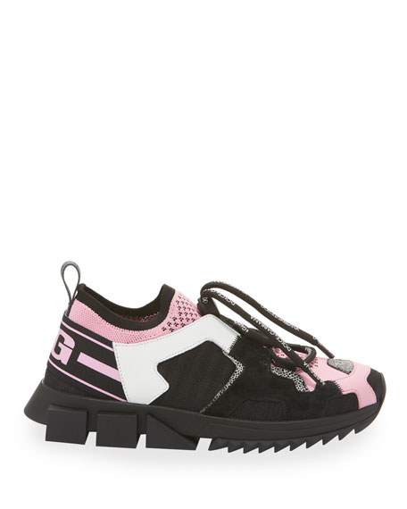 Dolce & Gabbana Sorrento Toggle Trainer Sneakers