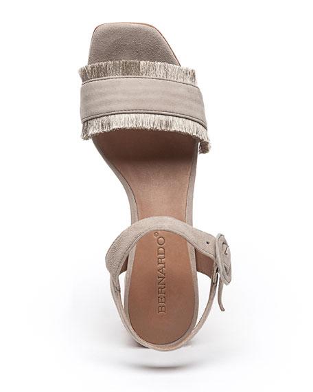 Bernardo Reagan Cork Suede Sandals