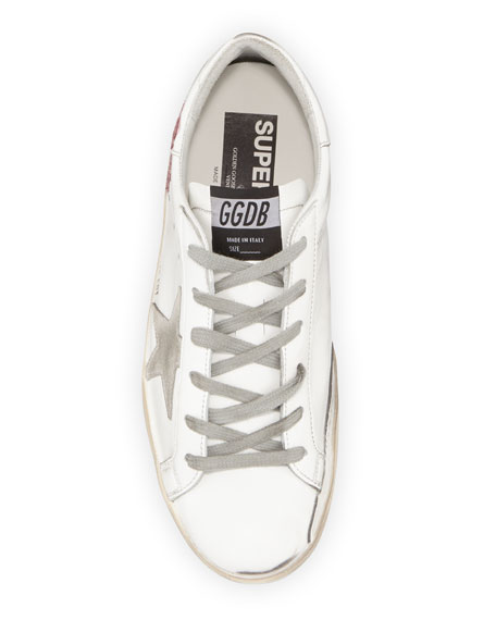 Golden Goose Superstar Peony Leather Low-Top Sneakers