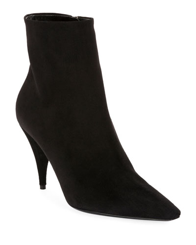 Kiki Suede Pointed Booties