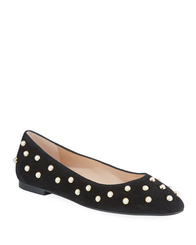 Ruth Pearly Ballet Flats
