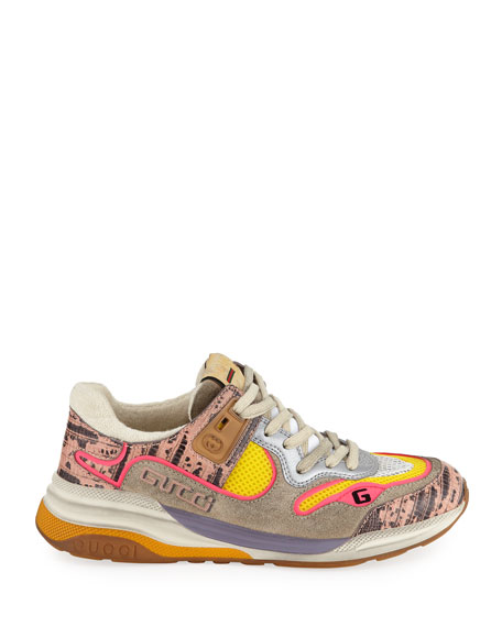 Gucci G Line Colorblock Sneakers