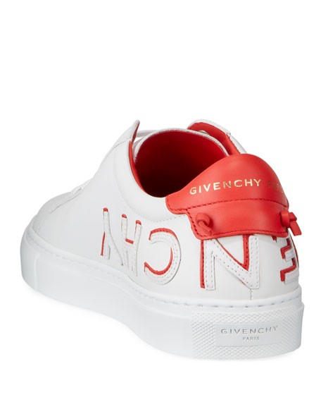 Givenchy Urban Street Reverse Logo Low-Top Sneakers