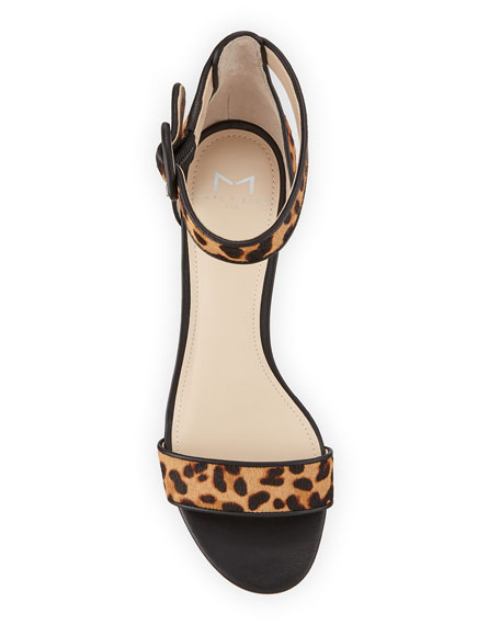 Marc Fisher LTD Karleely Leopard-Print Sandals