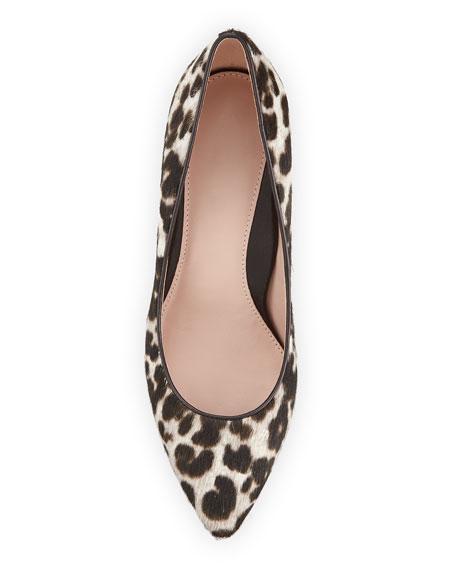 Taryn Rose Collection Gabriela Low-Heel Leopard Pumps