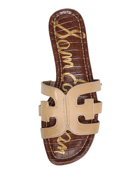Sam Edelman Bay Patent Cutout Slide Sandals