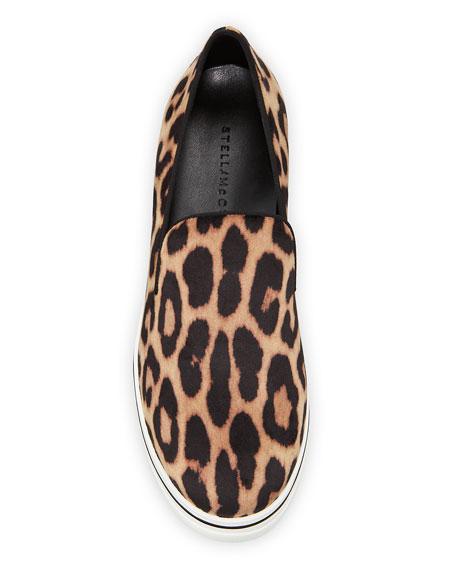 Stella McCartney Binx Leopard Platform Sneakers
