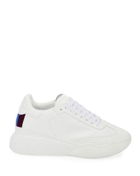 Stella McCartney Loop Faux-Leather Sneakers