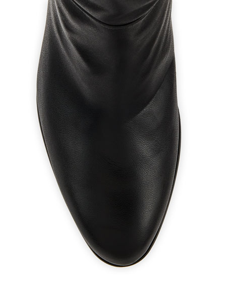 Alexandre Birman Rachel Leather Knee Boots