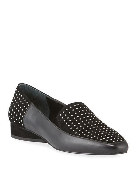 Donald J Pliner Loafers Iline Micro Stud Loafers